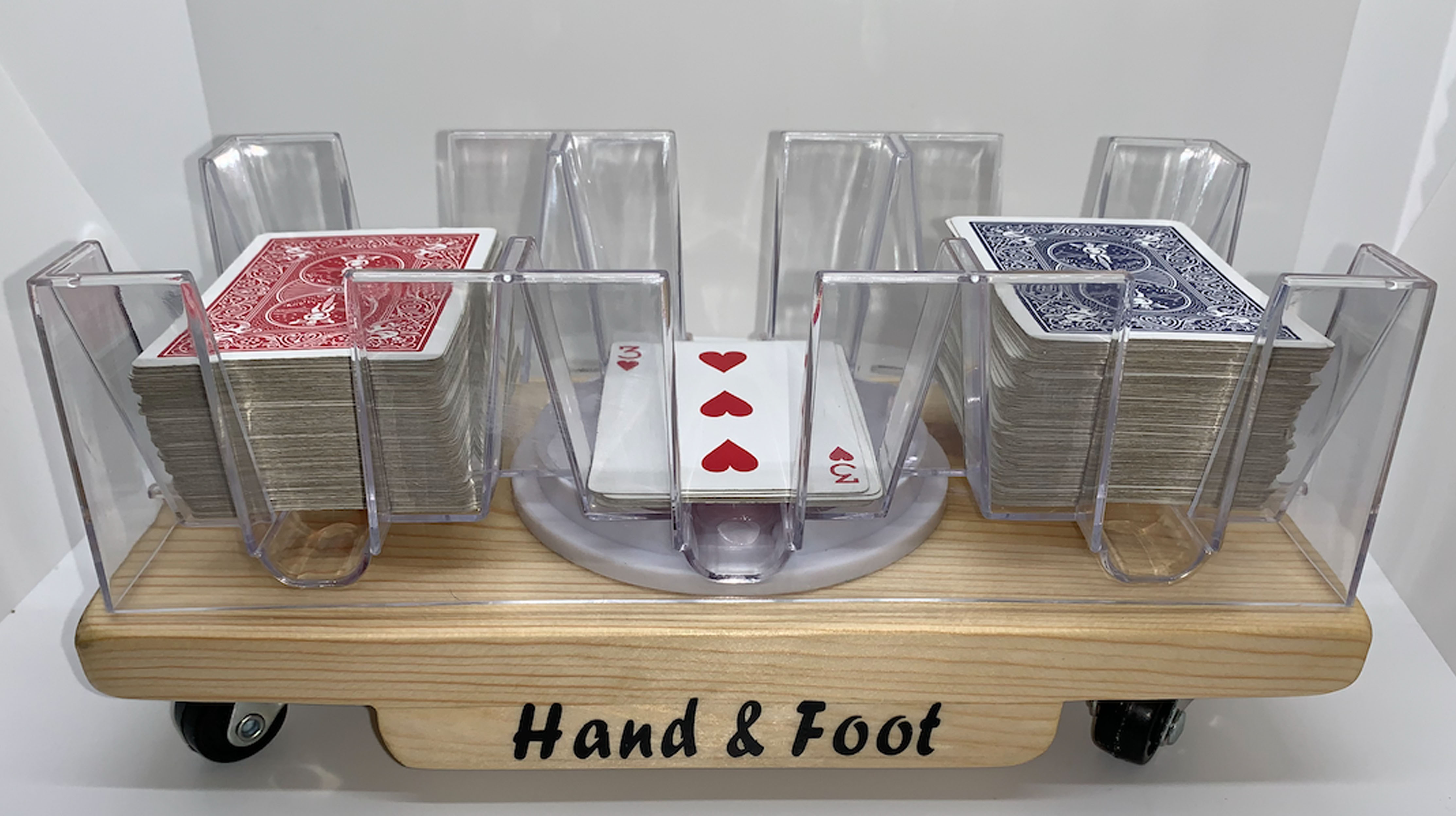 3 Deck Rolling Hand and foot